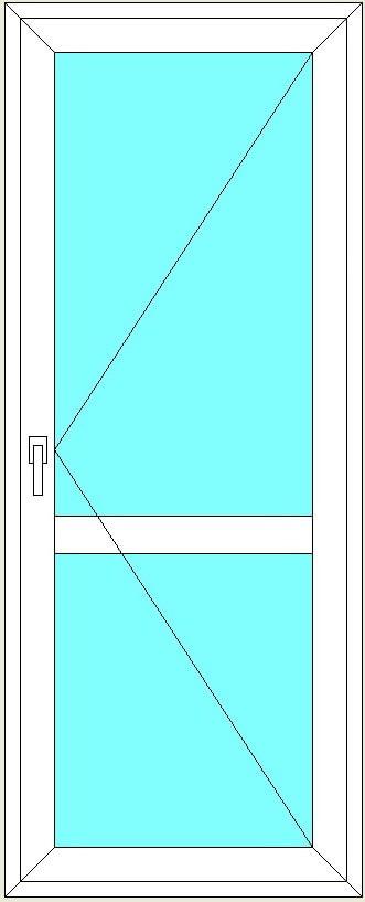Замена двери на балкон г.элиста.